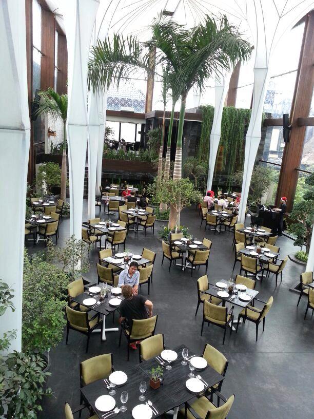 Great dining experience in Merah Putih restaurant, Bali, Indonesia