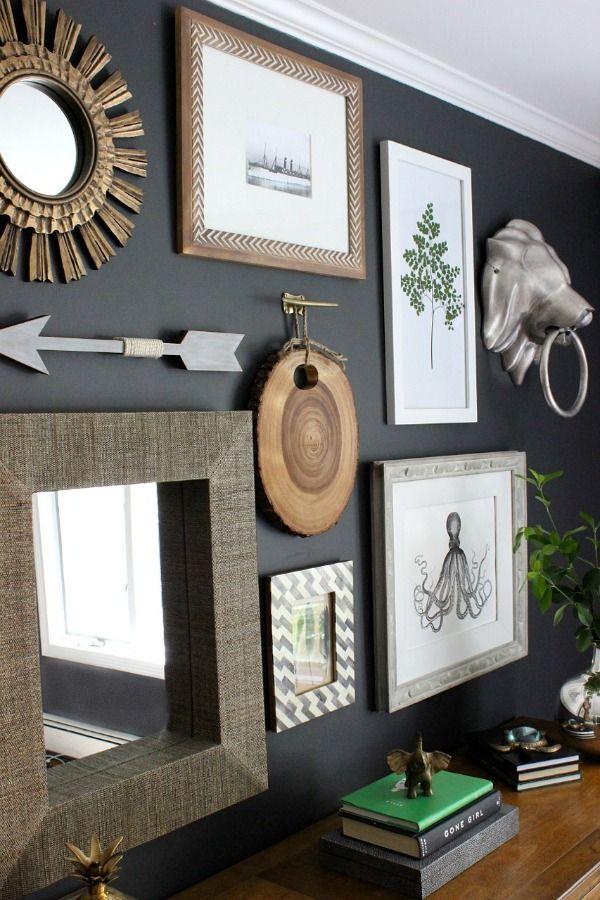 best 25 hanging artwork ideas on pinterest. Black Bedroom Furniture Sets. Home Design Ideas