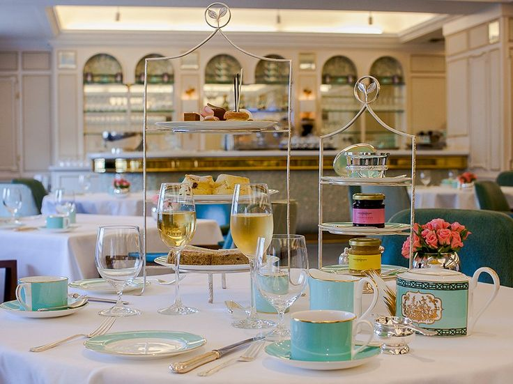 Located on the fourth floor of the iconic Fortnum