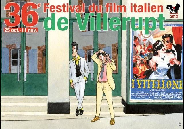 36ème festival du film italien. Du 25 octobre au 11 novembre 2013 à Villerupt.