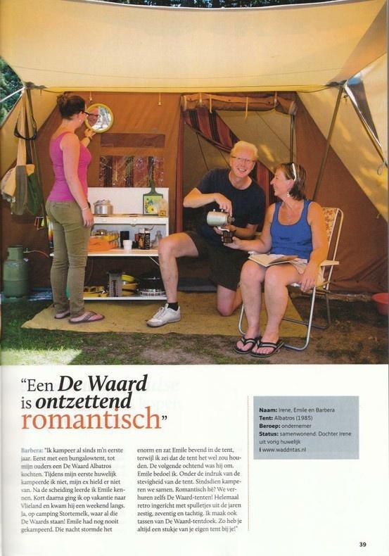Een De Waard is ontzettend romantisch.