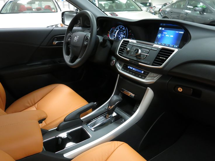 Custom interior on a 2015 Honda Accord! Custom Vehicles