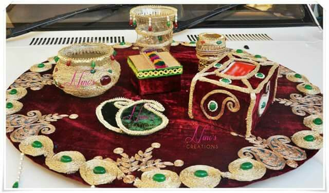 Mehndi Thaal Decoration Facebook : Best images about decoration on pinterest indian