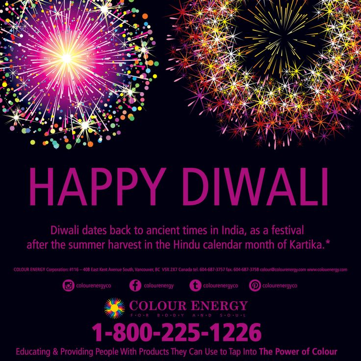 HAPPY DIWALI from all of us at Colour Energy #colourenergy #diwali