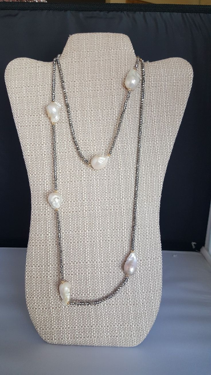 #Pearlnecklace #necklace #pearl by Katherine Kelly Jewelry