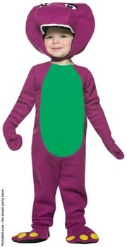 Barney and Friends-Barney Infant Costume  $21.73
