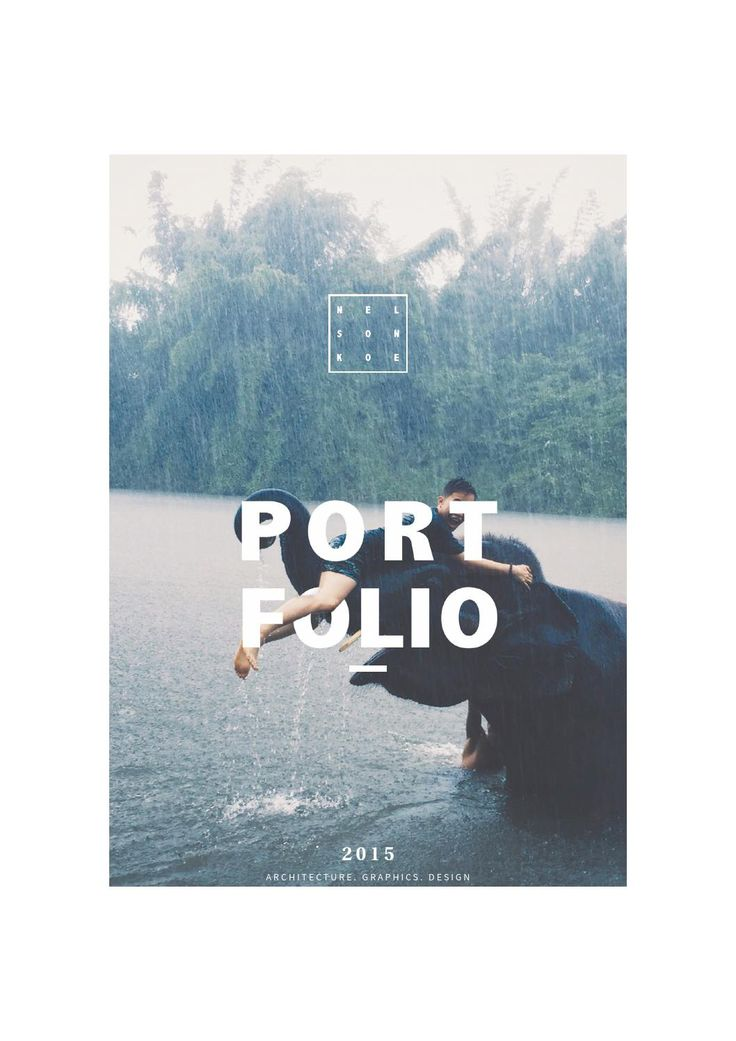 Graphic design portfolio 2015                                                                                                                                                      More