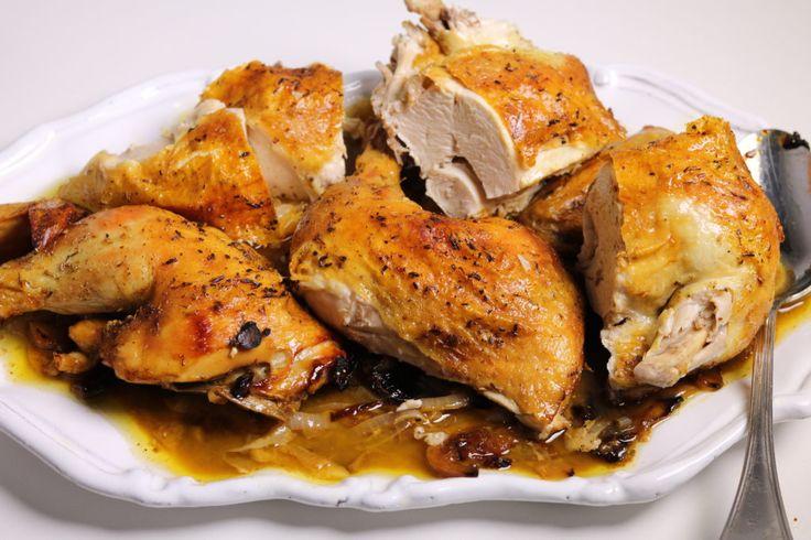 Ina Garten Skillet-Roasted Chicken - SO EASY!