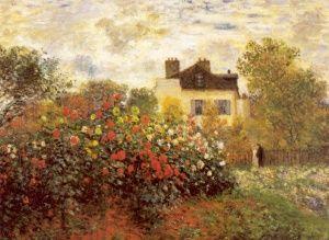 Κηπος, Κλωντ Μονέ | Καμβάς, αφίσα, κορνίζα, λαδοτυπία, πίνακες ζωγραφικής | Artivity.gr