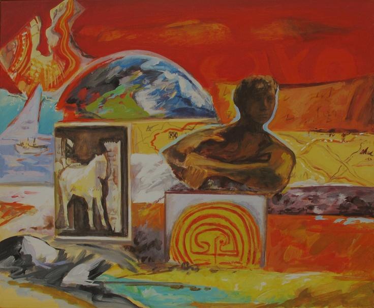 Earthy Dialogue by Magda Leventakou | Artia Gallery