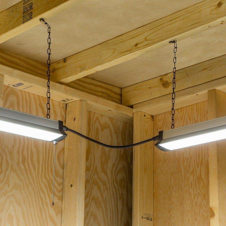 Led Shop Led Shop Light With Reflector Shroud