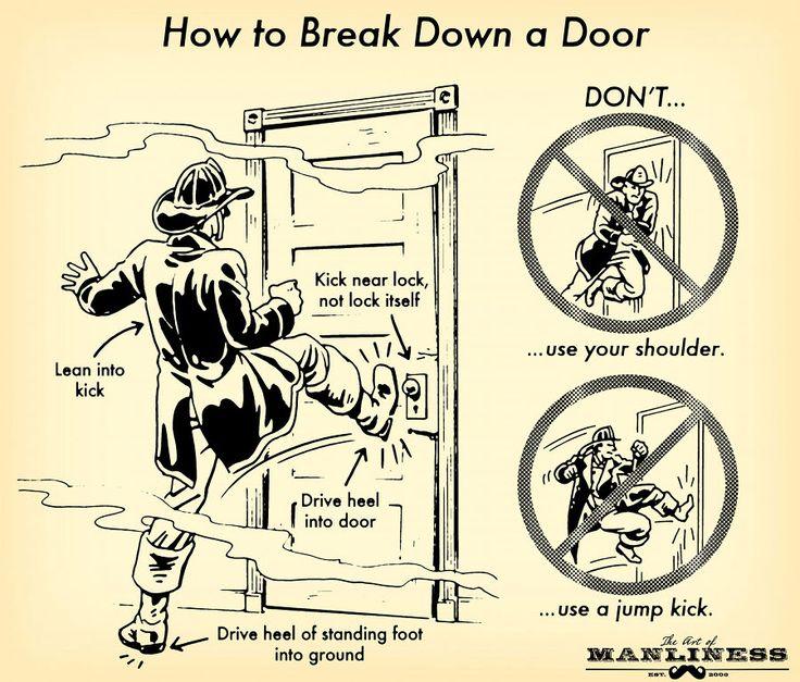 How to Break Down a Door