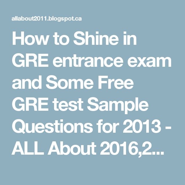 possible gre essay questions The paper-based gre revised general test contains two analytical writing tasks, two verbal reasoning  review the strategies, sample topics, essay responses and reader commentary for each task contained in this document also review the scoring guides for  be the best possible example of your writing that you.