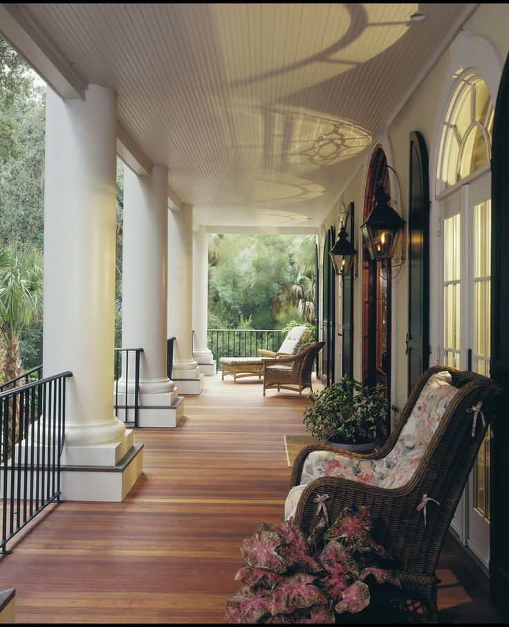 Seabrook Island Custom Residence - traditional - porch - charleston - Kevin Whalley / Dolphin Architects and Builders