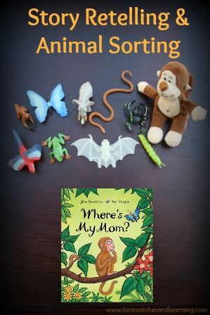 Story Retelling and Animal Sorting - Julia Donaldson Book Activity