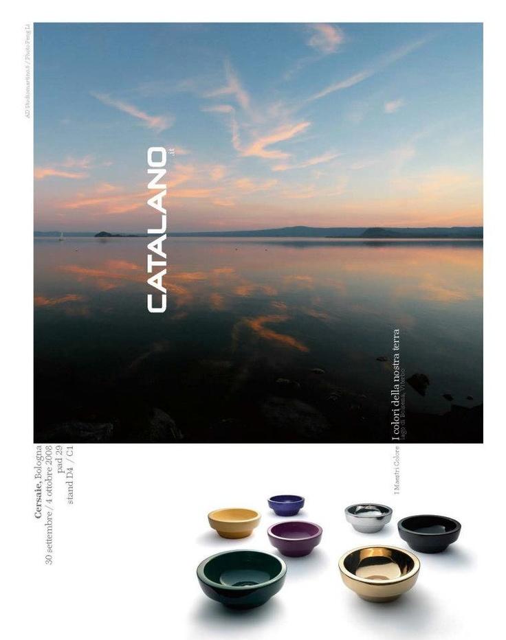 Advertising Catalano 2008, Interni