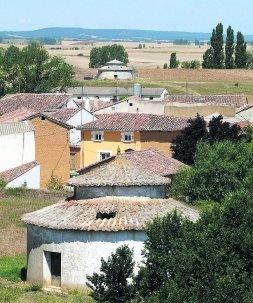 Palomares en la provincia de Palencia