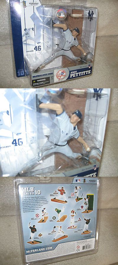 Sports 754: Mcfarlane Mlb Series 10 Andy Pettitte New York Yankees Variant Chase Figure Mip -> BUY IT NOW ONLY: $44.95 on eBay!