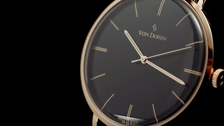 The Scandinavian Von Doren Timepiece - Art Nouveau Elegance project video thumbnail