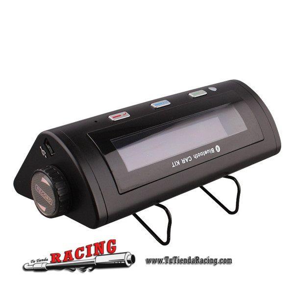 Manos Libres para Colocación en Parasol de Coche Audio Bluetooth MP3 AUX Reproductor MP3 - 30,71€ - TUTIENDARACING - ENVÍO GRATUITO EN TODAS TUS COMPRAS