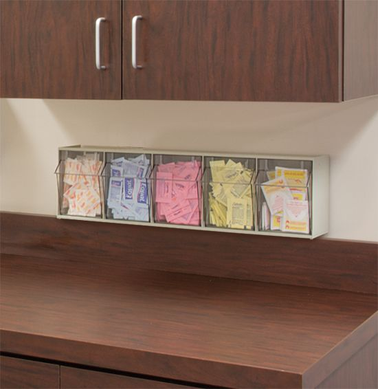 tiltview bins from akromils are great for organizing coffee and tea supplies perfect - Akro Mils