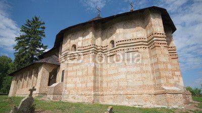 Visit at the Balteni's church, Romania