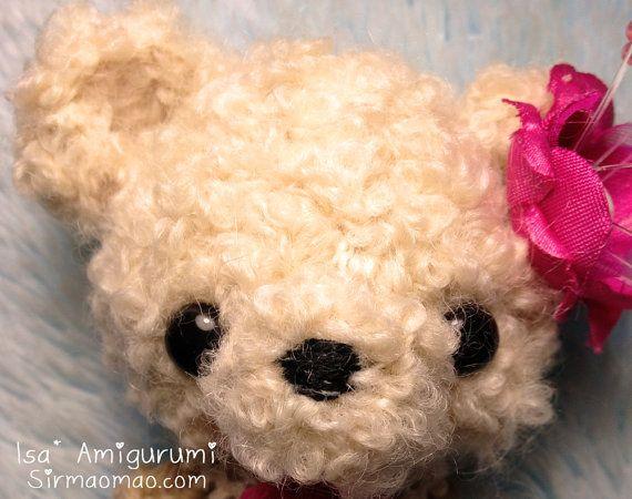 Ami Cute Bear Cream by KawaiiAmigurumi on Etsy, $12.00