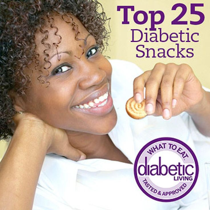 Stomach grumbling or blood glucose a bit low? Reach for one of our top 25 consumer-tasted and dietitian-approved snacks. Diabetic Living's dietitians scoured the supermarkets to find the most nutritious packaged snacks, and a panel of taste-testers (including people with diabetes) ranked the treats. From chips and dip to cookies and popcorn, see which snacks were awarded the Diabetic Living What to Eat Seal of Approval.  Please note that product information, packaging, and availabili