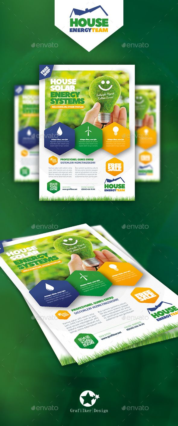 140 best images about Flyer Templates Design – Green Flyer Template