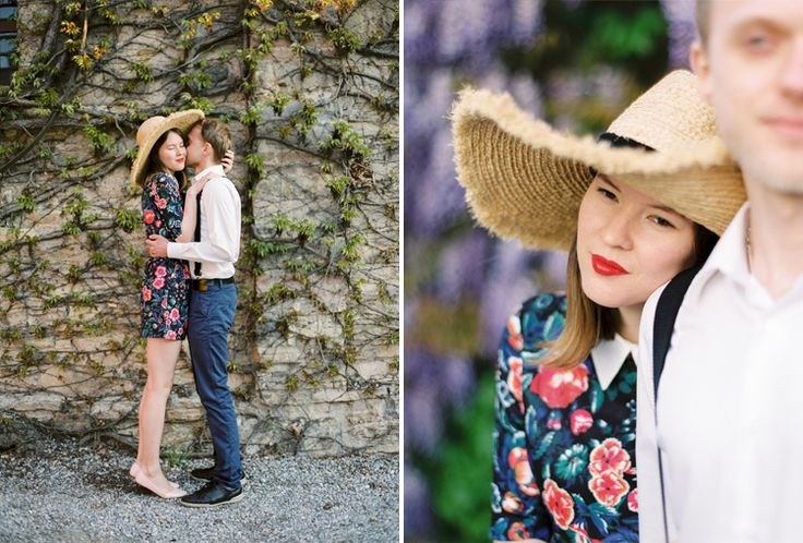 Darya Kamalova thecablookfotolab film photographer in italy, Love story, couple photography, engagement pictures, fine art, in love, italy, francia corta, straw hat, inspiration, beautiful couple, film photography, destination photographer, photographer in Italy