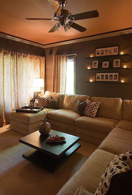 Looks so warm and cozy our home pinterest love this Warm cozy living room ideas