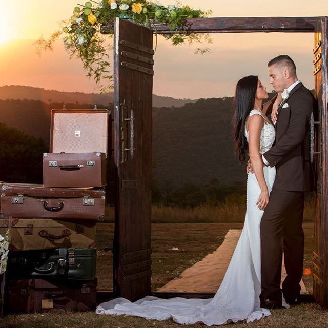 Ryan & Nicole's Wedding hosted last weekend with us. Photograph courtesy of @wow_darrell