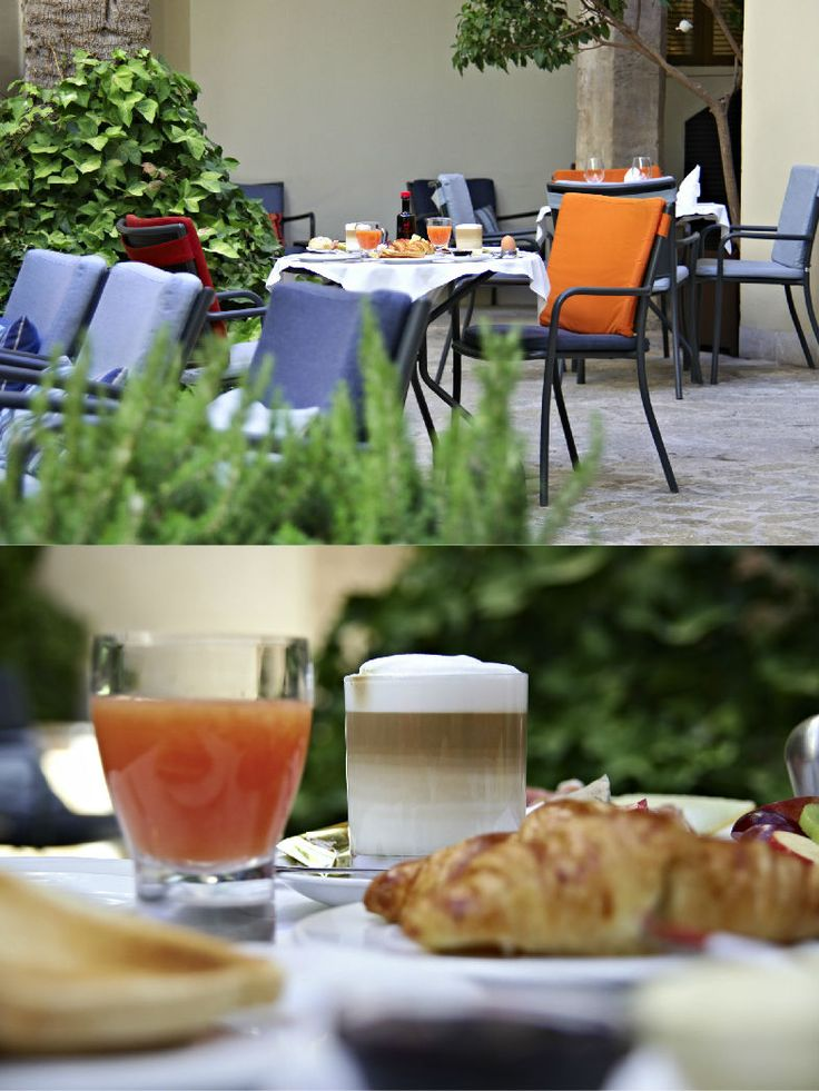 Hotel Tres | Boutiquehotel | Spain | http://lifestylehotels.net/en/hotel-tres | outside, terrace, restaurant, breakfast, food