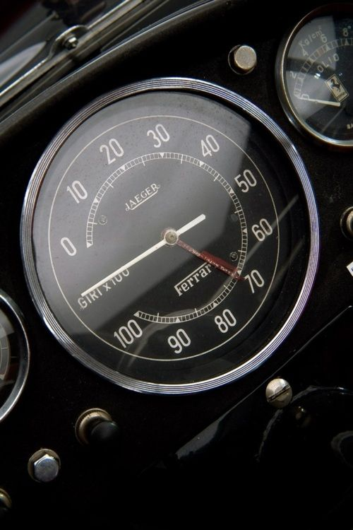 1957 Ferrari 250 Testarossa/Rev-counter