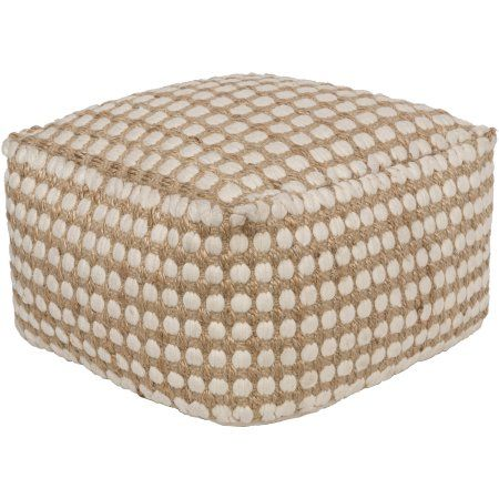 Pillow Pouf, 20 by 20 Inch