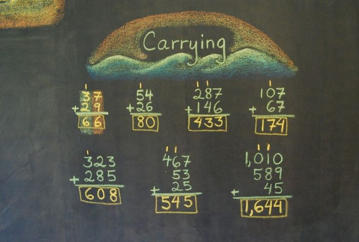 Carrying on a blackboard at the Great Barrington Rudolf Steiner School