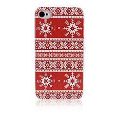 Snowflake Pattern hardt tilbake tilfelle for iPhone4/4S