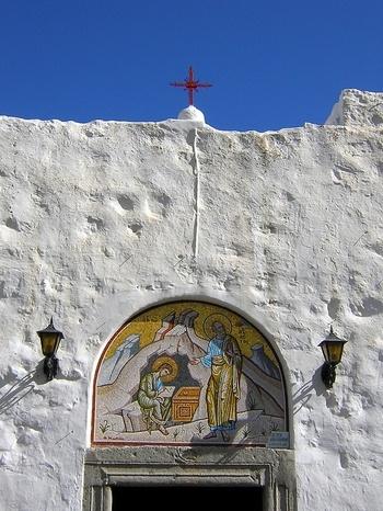 Cave of the Apocalypse, Island of Patmos, Greece