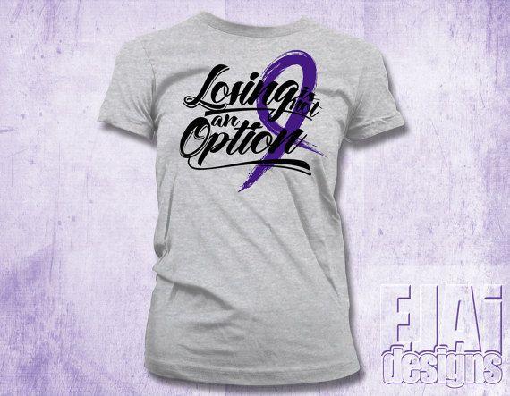 Chiari, Crohns, Colitis, Lupus Shirt, Sarcoidosis, Fibromyalgia Shirt, Alzheimers, Epilepsy Shirt, Pancreatic Cancer, Purple, Cancer Shirt