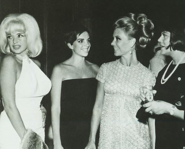 Jayne Mansfield, Liza Minnelli, Mitzi Gaynor, Kaye Ballard