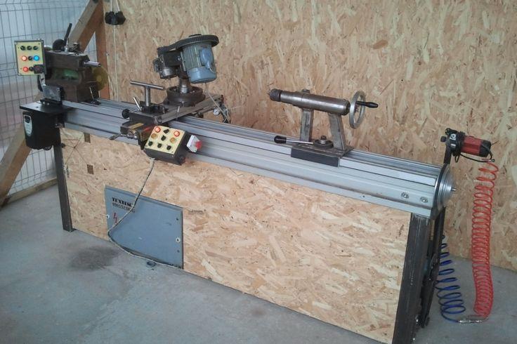 Executia in regim homemade a unui utilaj multifunctional pentru strunjirea si frezarea lemnului. Detalii pe BricoHub.ro