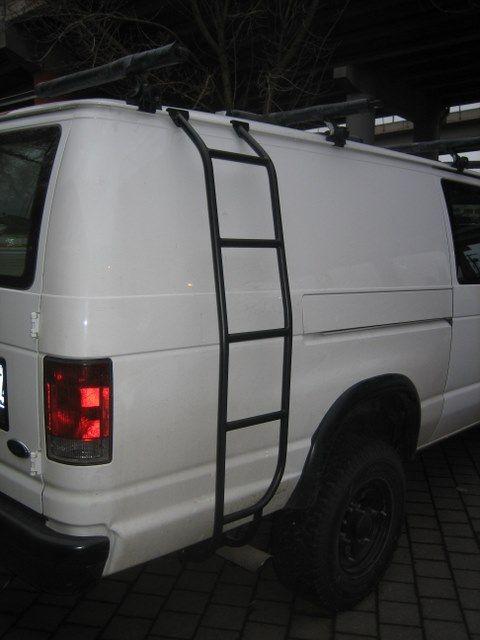 Diy Van Ladder Diy Ladder Diy Camper Vans