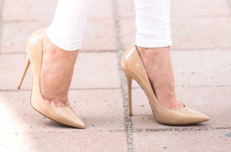 #jimmychoo #heels #pumps #beige #fashionblog #munich #germany #outfit #ootd http://fashiontipp.com