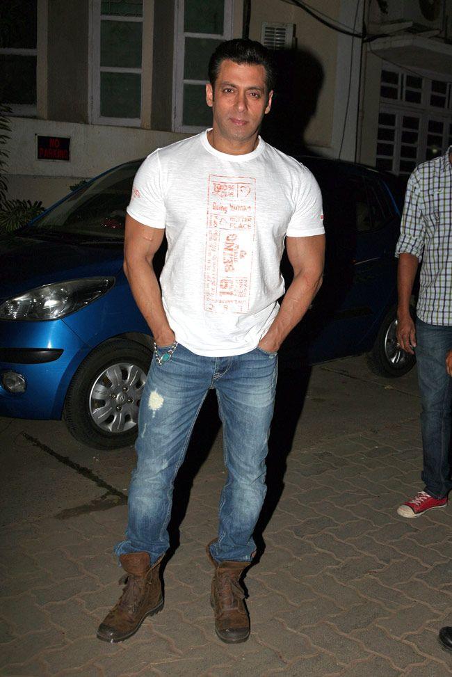 Salman Khan   Boots & Denim