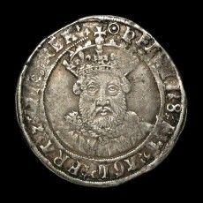 Henry VIII (1509-1547) - Silver Testoon   AMR Coins