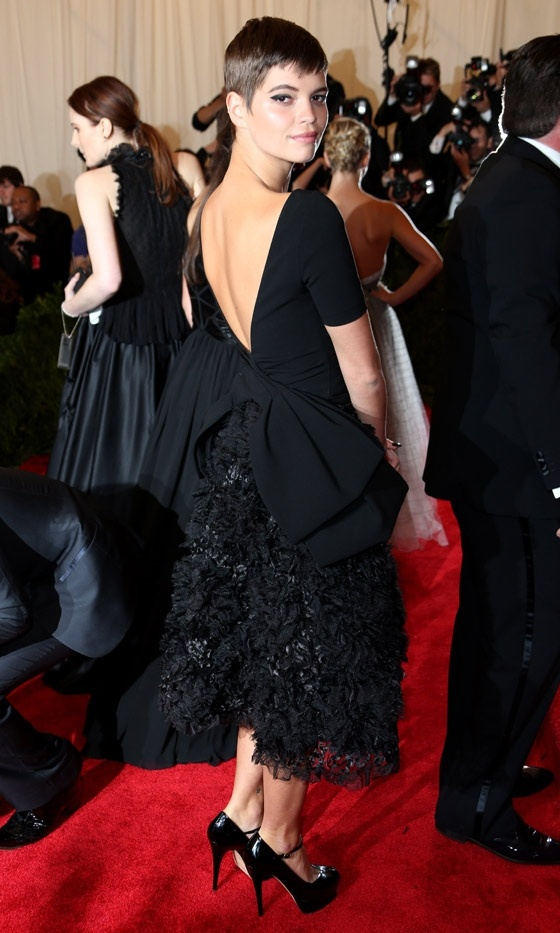 Pixie Geldof At The Met Gala, 2013