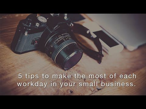 Cashflow Manager Blog | How to make the most of each workday in y