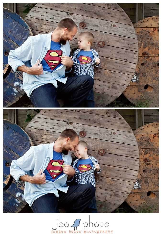Fathers Day photo shoot idea