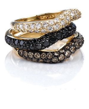 le vian...to die for stackable rings!!!