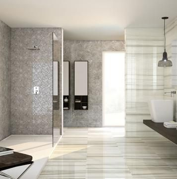 Perseo mattonelle per il bagno idee e soluzioni in - Mattonelle in ceramica decorate ...